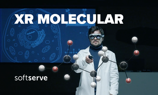 SoftServe's XR Molecular Combines Mixed Reality and AI for Faster Drug Discovery