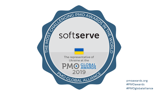 SoftServe Named Top Finalist at 2019 PMO Global Awards
